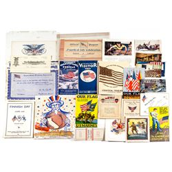 US Armed Forces Misc. Items Archive (Postcards, Pamphlets, Bonds)