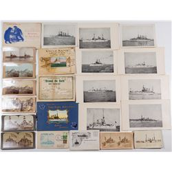 Pacific Fleet Memorabilia (Photographs and Brochure)