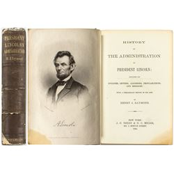 """President Lincoln's Administration"" by H.J. Raymond (Fulton Collection)"