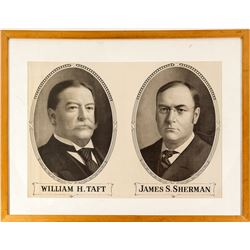 William H. Taft and James S. Sherman Pictures/ Poster