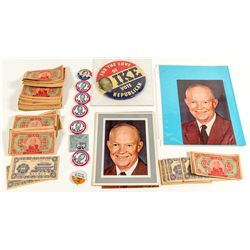Dwight Eisenhower Presidential Collection (Buttons and Photographs)