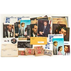 John F. Kennedy Photos, Promotional Material, and Joss Paper