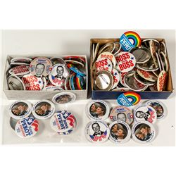 Ross Perot Campaign Button Archive
