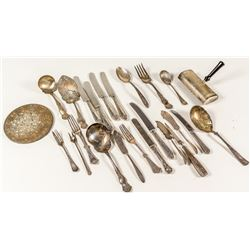 Silver Plate Flatware, Serving Utensils, and Other Tools