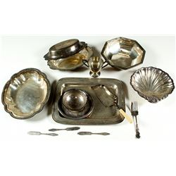 Silver Plated Dish Collection