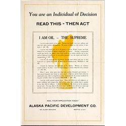 Alaska Oil Broadside