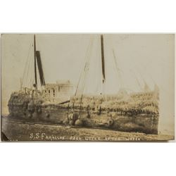 Steamship Farallon Disaster Postcard