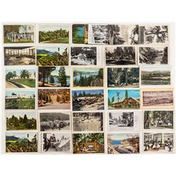 Big Bear, Fawnskin, and Loma Linda Photo Postcards