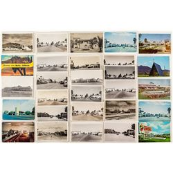 Postcards of Blythe Street Scenes, California