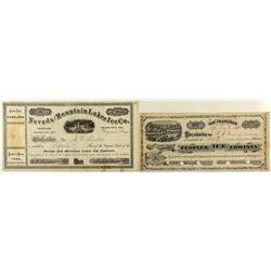 Two Boca area Stock Certificates