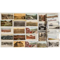 Cripple Creek, CO Town, Trains, and Scenery Postcards