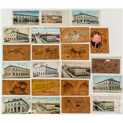 Denver Mint and Leather Postcards