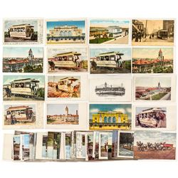 Denver Train Postcards