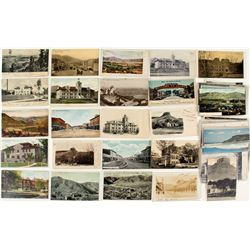 Golden, CO Town and Scenery Postcards