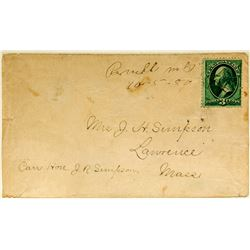 Manuscript Buell Montana Territorial Cover