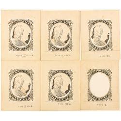 Original 1c Stamp Artwork