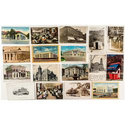 Postcards Featuring US Post Offices
