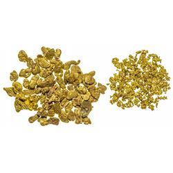 Gold Nuggets and Crystalline Gold Specimens
