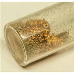 Vial of Placer Gold