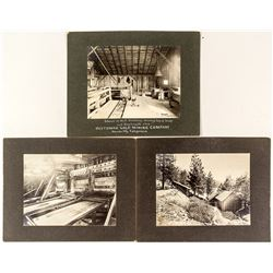 Three Photo Suite Of Oustomah Mine by Moore
