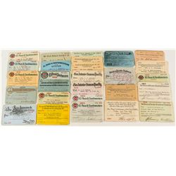 Texas Railroad Pass Collection (27)