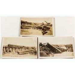 Mohave & Milltown Railway Postcards Trio