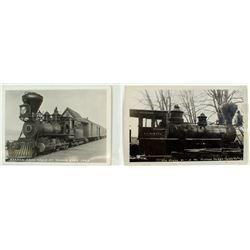Two RPC's of Lake Tahoe Railway Engine #1