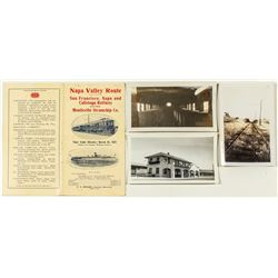 Napa Valley Scenic Railway Photo & Ephemera