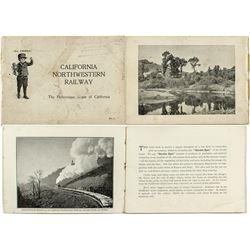 California Northwestern Railway Booklet