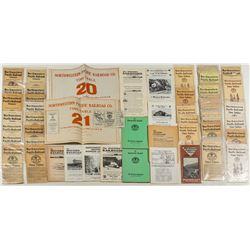 Northwestern Pacific Railroad Co. Ephemera Package