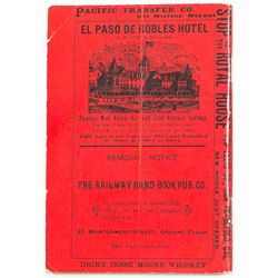Railway Hand Book Directory