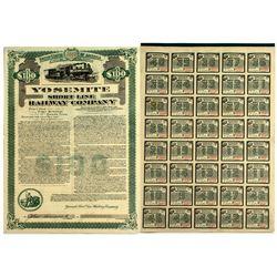 Yosemite Short Line Railway Company Gold Bond