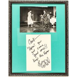 Hope Photo and Gladys Knight Autograph