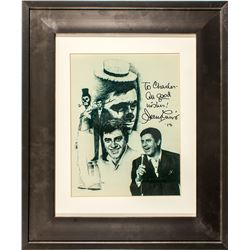Actor & Comedian Jerry Lewis Autographed Print