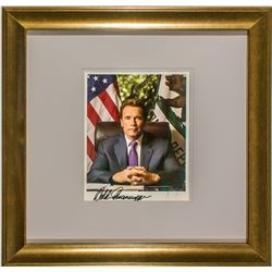 Actor and Governor Arnold Schwarzenegger Autograph