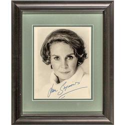Jean Simmons Autograph