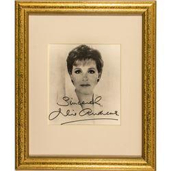 Julie Andrews Autograph
