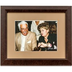 Cesar Romero and Shelly Winters