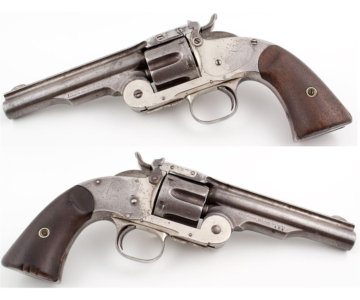 Smith & Wesson 'Wells Fargo' Model .45 Caliber Schofield