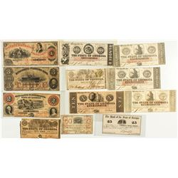 Georgia Bank Note Collection