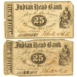 Indian Head Bank Fractional Notes