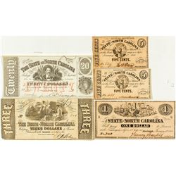 North Carolina 19th Century Currency