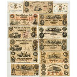 South Carolina Currency Collection