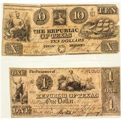 Republic of Texas notes