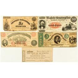 Virginia Note Collection