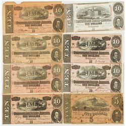 Confederate Currency Group (8)