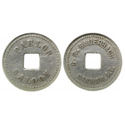 Winslow, Arizona Territory Token