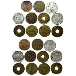 Auburn and Colfax Token Collection