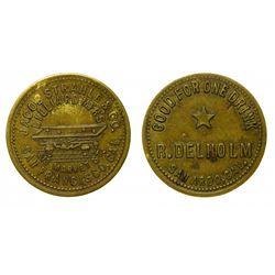 San Ardo, California Brunswick Balke token