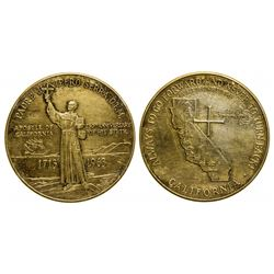 Commemorative Gold Token of Padre Junnipero Serra